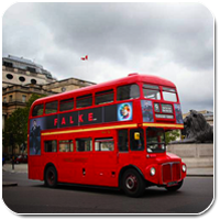 Old Routemaster Bus
