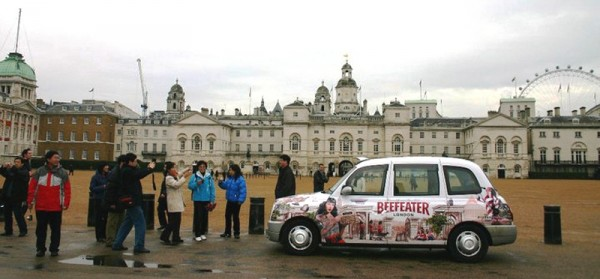 Beefeater Gin - Full Taxi Livery