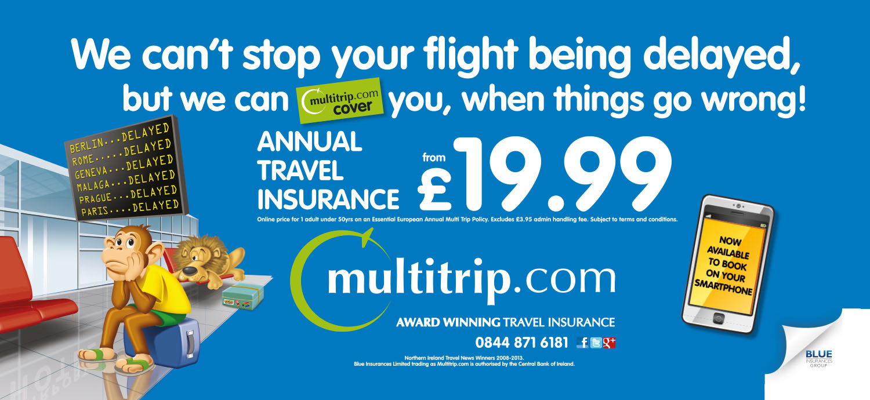 TUbe ADvertising - Blue Insurance Travel Insurance Campaign