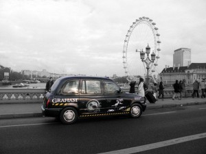 Transprt Media - Graham Watches - London Taxi