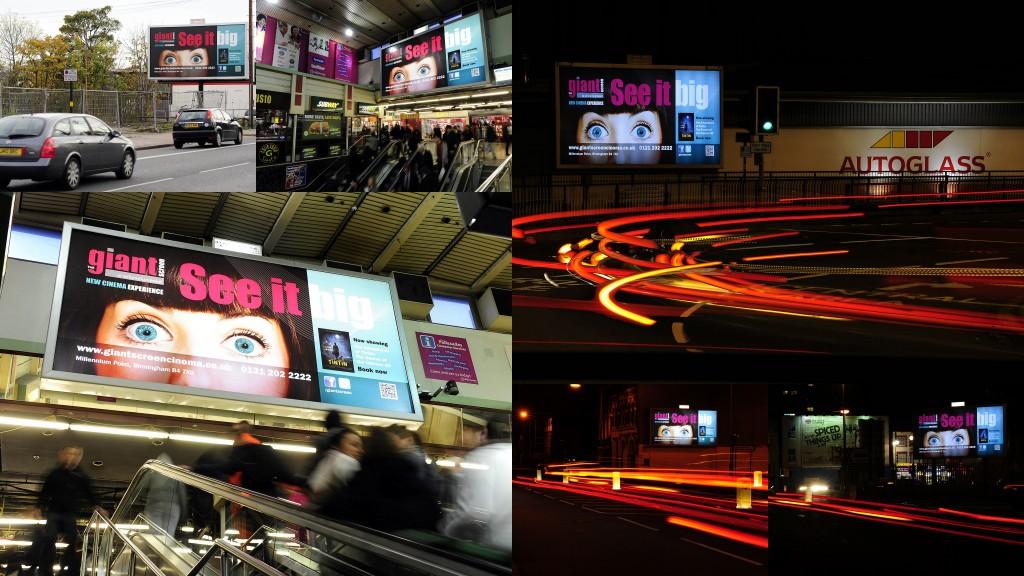 Out Of Home International - IMAX - 48-Sheet Backlit Billboard