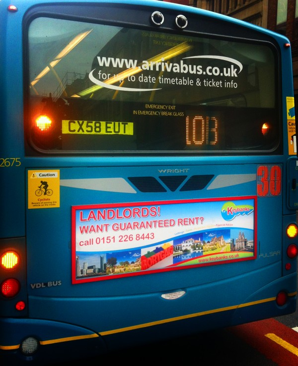 Keybanks Bus Campaign