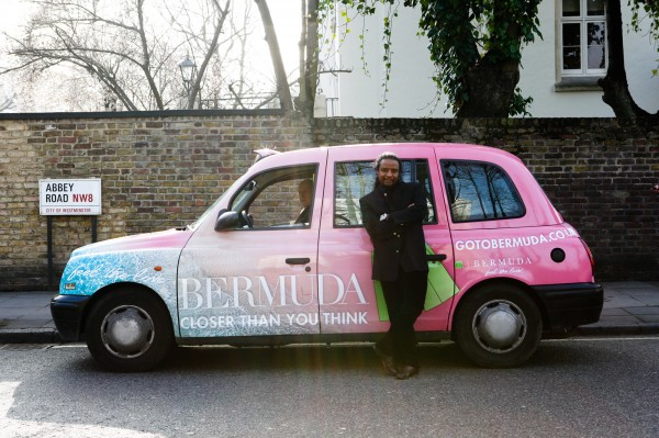 Out Of Home International - Bermuda Tourism - Taxi Livery