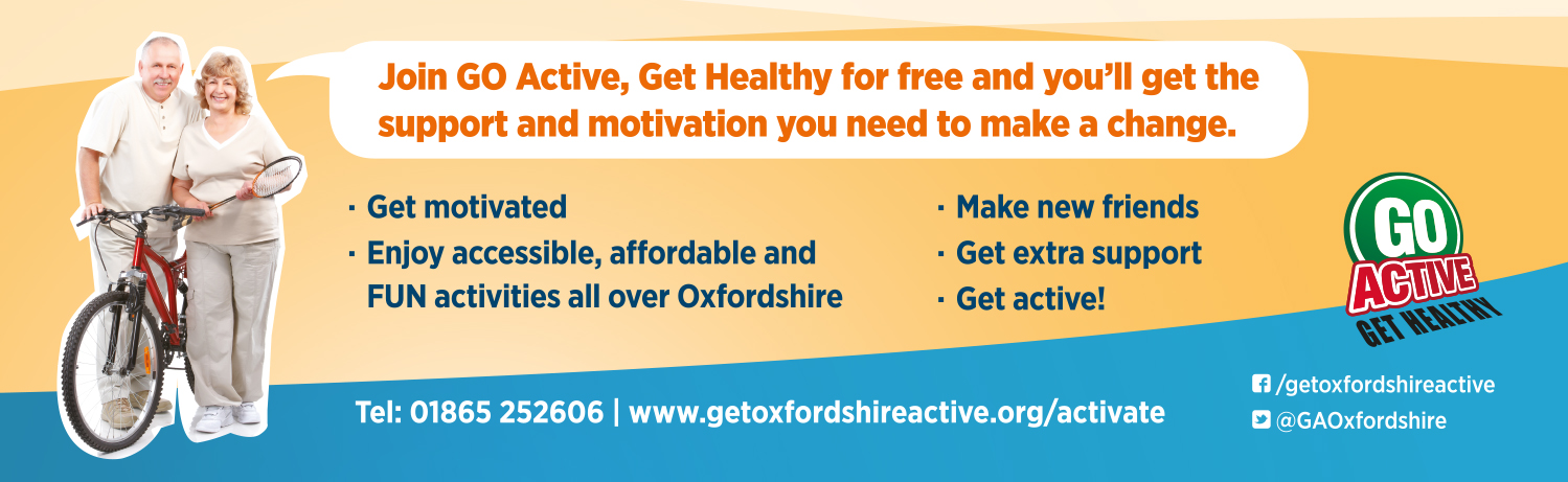 Oxford To Go Active Bus Headliner Campaign
