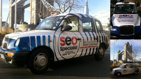 Transport Media - SEO Specialist - Taxi Advertising