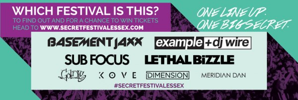 Secret Festival Essex Artwork
