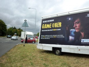 Out Of Home International - Staffordshire Safer Roads Partnership - Advan