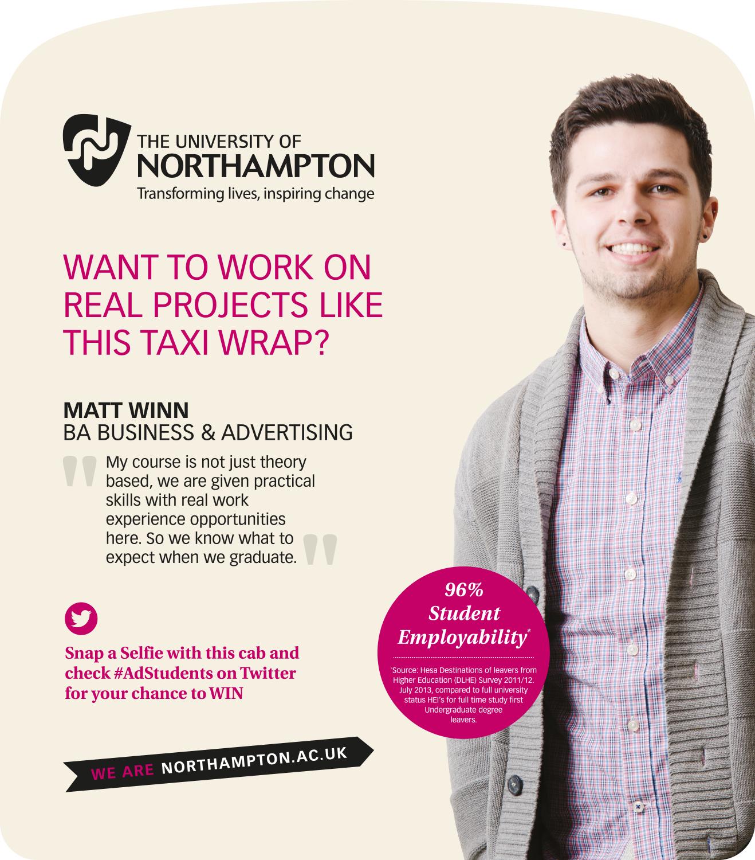 Northampton University Taxi Campaign