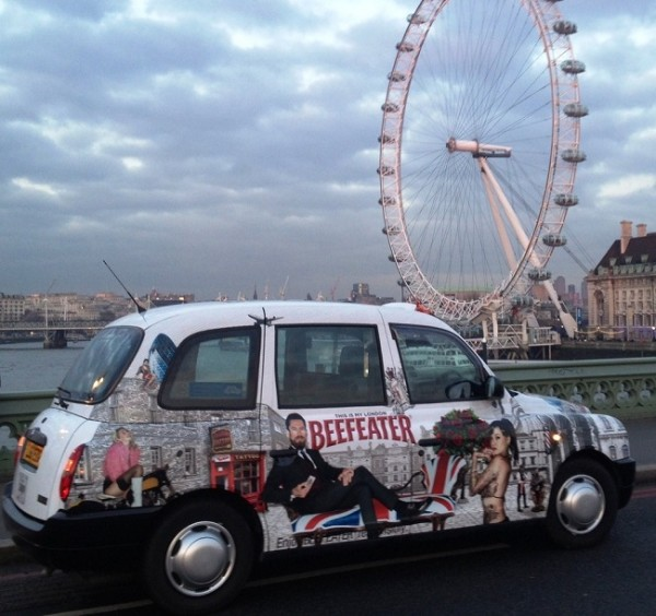 Full Livery Taxi Advertising