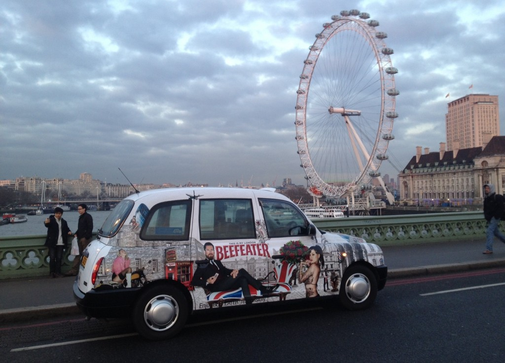 Beefeater - Taxi Full Livery