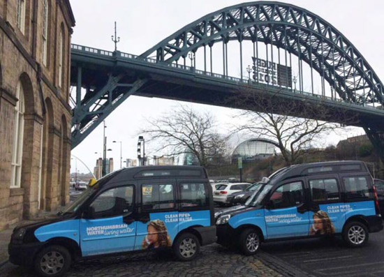 Northumbrian Water Taxi Superside Tyne Bridge