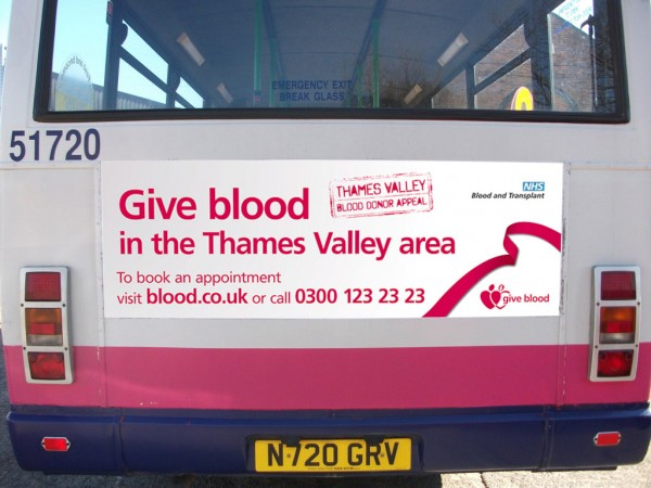 Thames Valley Bus Rear
