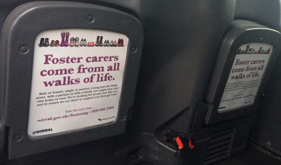 Wirral Council Tip Seat Advert