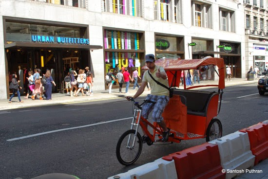 London Rickshaw Pedicab Transport
