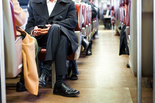 Advertising Online Train Ads
