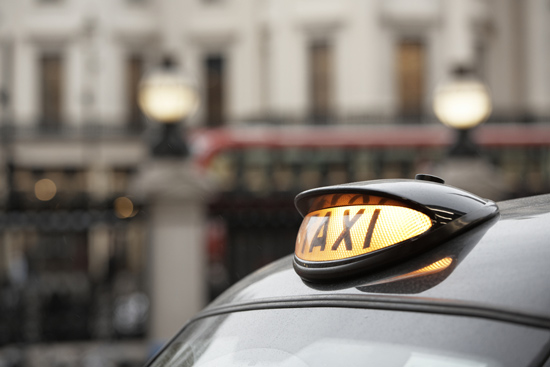Uber app london taxi