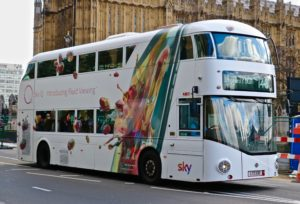 bus advertising operators in the uk